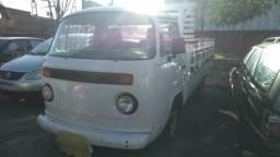 Kombi picap carroceria de madeira GNV - 1986