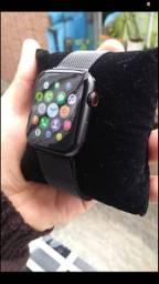 SmartWatch W34S troca pulseira faz é recebe ligações barato entrego nas estações