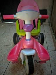 Triciclo menina com botões e som