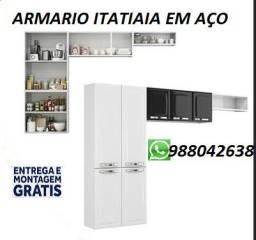 (Entrega e Montagem Rapida)Cozinha Itatiaia em Aço Nova na Caixa!!