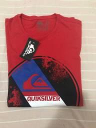 Camiseta Quiksilver com etiqueta - tamanho G