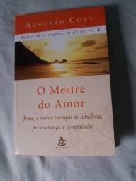 Livro Augusto Cury O Mestre do Amor em ótimo estado