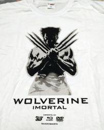 Camisetas novas com temas de filmes Wolverine, Walking Dead, O Ataque