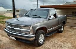 Vendo A Vista ou pego MOTO - Silverado DLX Diesel Motor MWM 6 Cilindros - 1997