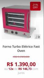 Forno turbo 4 assadeiras ALESSANDRO *