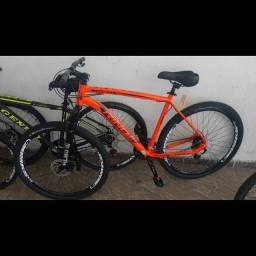 Bicicleta aro 29 (quadro alumínio)