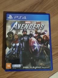 Vendo ou troco marvel avengers ps4