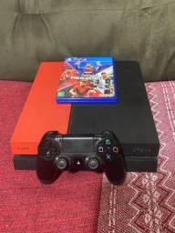 PS4 500 Gb com Pés 20 Semi Novo entrego