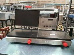 Sanduícheira (chapa com prensa) a gás PR950G Nova/ Br Cozine