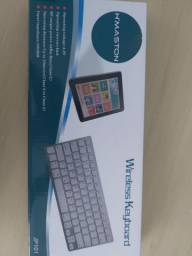 Teclado Wireless Keyboard h maston Bluetooth universal sem fio