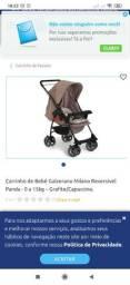 Carrinho e bebe conforto marca Galzerano