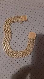 Pulseira de ouro 18 k