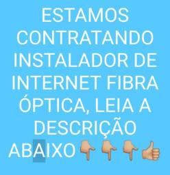 Preciso de instalador de internet URGENTE!!!
