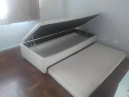 Bicama Box baú solteiro com cama auxiliar - Ortobom