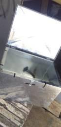 Fabricamos caixas termicas galvanizada sob medidas