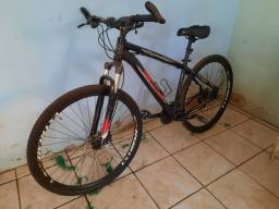 Bicicleta aro 29 com kit hidraulico shimano
