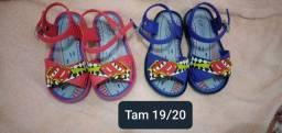 Sapatos de bebê menino