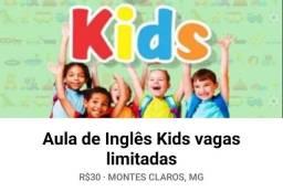 Inglês Kids super promoção!