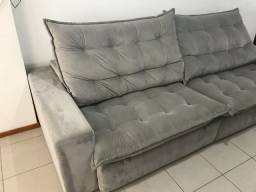 Vendo sofá usado top de linha!