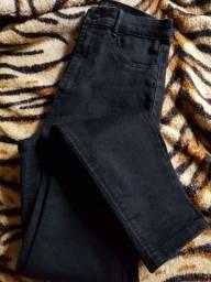 Calça skinny preta ( tamanho: 35)
