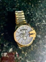 Relógio Diesel 10 BAR Linha Ouro AAA+