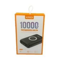 Carregador Portátil PowerBank Sem Fio Kaidi KD-230 Original 2 USB