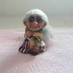 Boneco Duende Troll Original da Noruega