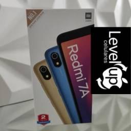 Level Up! Redmi 7A da Xiaomi.. novo lacrado com garantia e entrega
