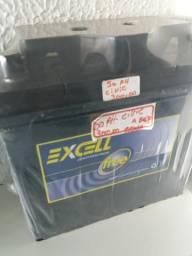 Bateria Excel 50 amperes base de troca Entrega grátis