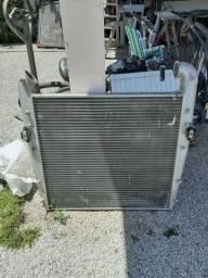 radiador e intercooler scania 124