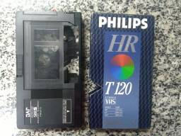 Adaptador de mini fita VHS
