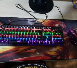 Vendo teclado  e mouse profissional