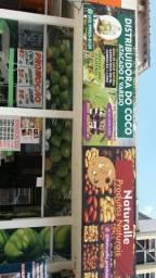Distribuidora de Água de Coco em garrafas e produtos naturais