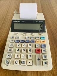 Calculadora Sharp EL-1750V - 2 Color Print - 12 Digit
