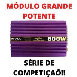 Módulo Napoli Grande Potente 800 Watts! Série de Competição Automotivo Promoção!!