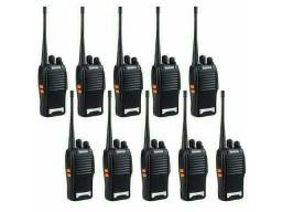 Kit 10 Rádio Comunicador Walk Talk Baofeng 777s 16 canais 8km<br><br><br>