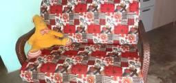 Sofa fibra de retan