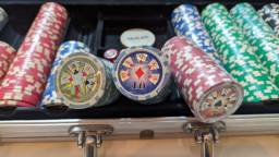 Fichas de Poker 500 unidades.