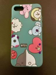 Capa celular iPhone 8 BTS nova