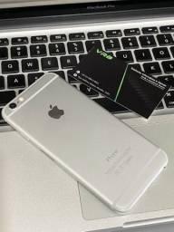 IPhone 6 64gb prata igual a novo 100% bateria