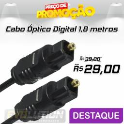 Cabo Optico Audio Digital Multilaser