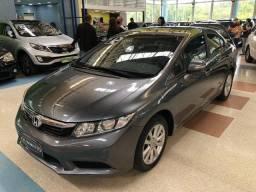 Honda Civic LXL Flex Automático 2012 * C/ Bancos de Couro