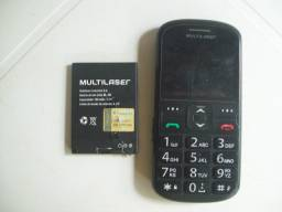 Telefone Multilaser Vita 2+Carregador e bateria