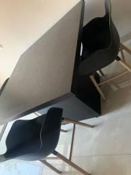 Mesa PLANEJADA MADEIRA 3 Cadeiras, Preço negociável