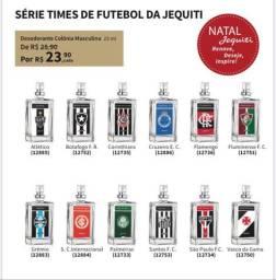 Promoção de perfumes dos times