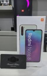 Redmi Note 8 Azul ou Preto 64GB.