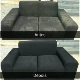 Lavagem A Seco: Seu sofá velho, novo novamente!
