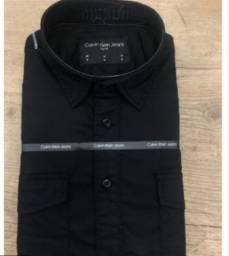 Camisa social calvin klein M