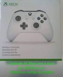 Controle de xbox one s novo lacrado por 490,00 reais em dinheiro