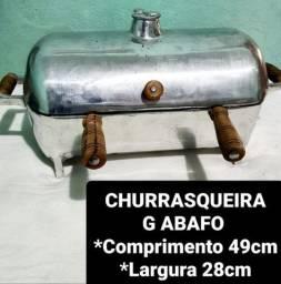 CHURRASQUEIRAS ABAFO A PARTIR DE 150,00 REAIS
